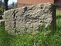 Cecchina di Albano L. - blocco romano di Peperino di Cecchina.JPG