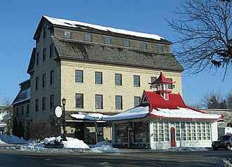 Cedarburg, Wisconsin - Hilgen's and Schroeder's 1855 Cedarburg Mill, and a 1926 Wadham's pagoda