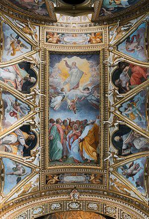 Ceiling of Santa Maria ai Monti (Rome)