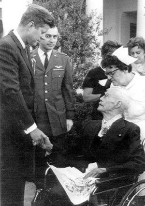 Charles E. Kilbourne - Major General Kilbourne at the White house