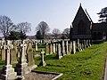 Cemetery Gravestones - geograph.org.uk - 1209042.jpg