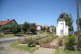 Center with chapel in Pokojov, Žďár nad Sázavou District.jpg
