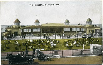 H. Kempton Dyson - Central Bandstand, Herne Bay, 1924