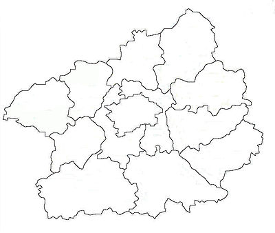 Location map Czech Republic Central Bohemia