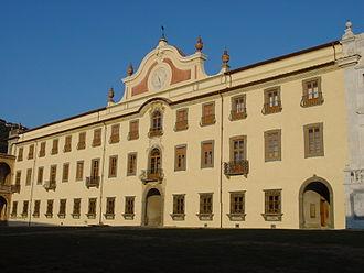 Pisa Charterhouse - Façade of the main building of Pisa Charterhouse