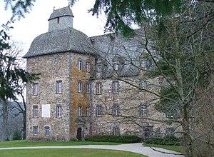 Château de Conros - Southern façade