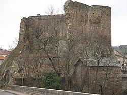 Le château de Francheville.