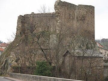 Ruines du château de Francheville