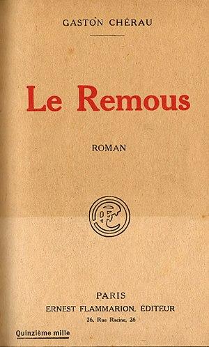 Gaston Chérau - Cover of Le remous