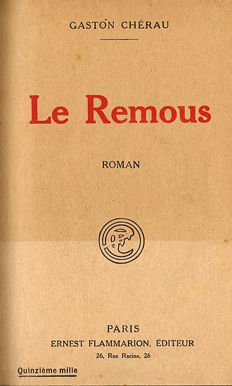 Gaston Chérau - Cover of Le remous