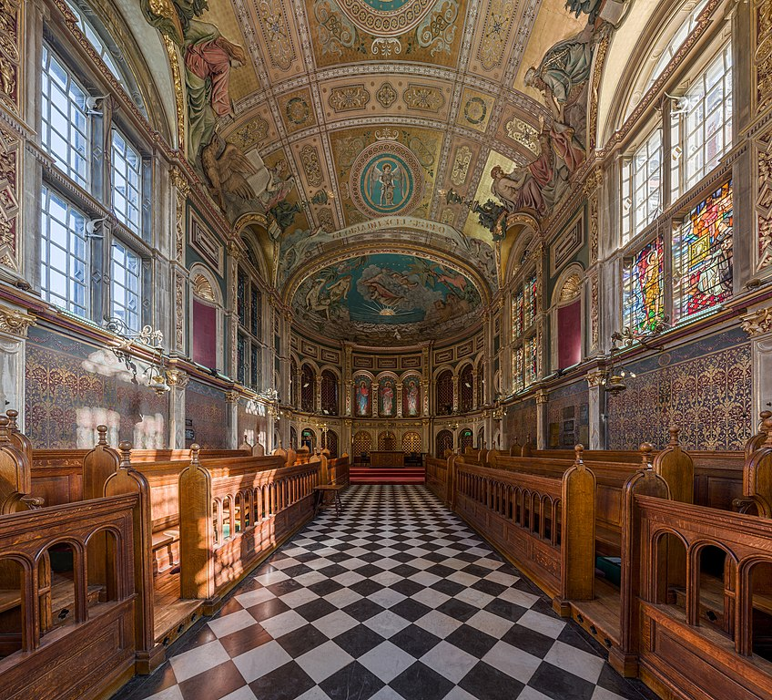 Colleges In New England >> File:Chapel Interior 2, Royal Holloway, University of ...