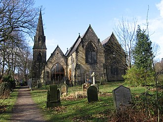 Chapeltown, South Yorkshire - Image: Chapeltown St John's Church