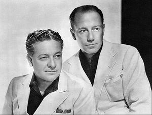Freeman Gosden - Freeman Gosden at right with Charles Correll, 1939.