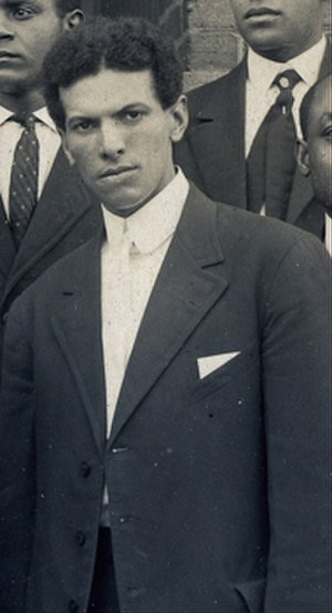 Blue and Gold Marching Machine - Charles E. Stewart, director of instrumental and vocal music (1909 to 1917).