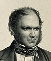 Charles Robert Darwin, aged 40. Lithograph by T. H. Maguire, Wellcome V0001461 (cropped).jpg