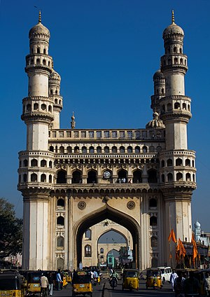 Charminar, Most Recognized Structures in India