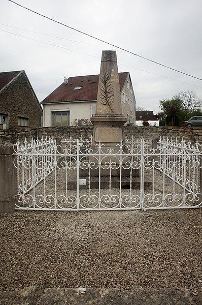 Monument aux morts de Charnay (Doubs).