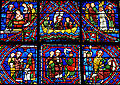 Chartres - Vitrail de la Vie de saint Appolinaire.JPG