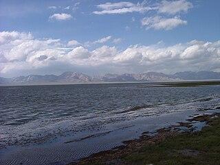 lake in Naryn Region, Kyrgyzstan