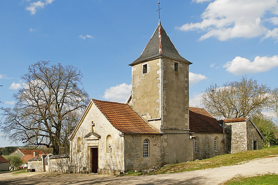 Church of Saint-Sulpice in Chaugey