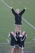 Stunt group in a prep