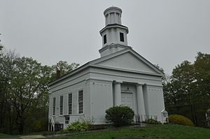 Chester Center Historic District - The Congregational Church in Chester Center