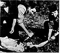 Chetniks in Šumadija kill a Partisan through heart extraction derivative.jpg