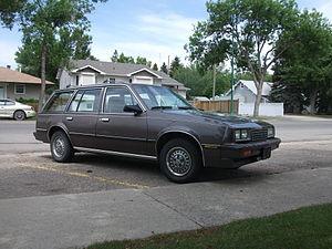 Chevrolet Cavalier - 1986–1987 Chevrolet Cavalier wagon