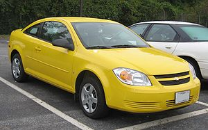Chevrolet Cobalt - Image: Chevrolet Cobalt Coupe