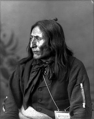 Siksika Nation - Image: Chief Crowfoot