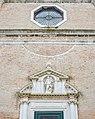 Chiesa dei Carmini Madonna con Bambino dettaglio facciata Venezia.jpg
