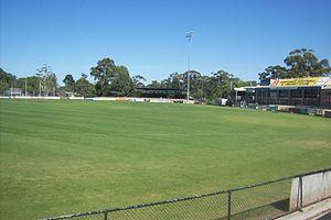 Chirnside Park (stadium) - Image: Chirnside Park stadium
