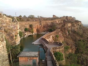 The Chittor fort