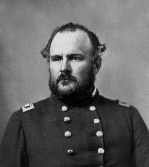 Colorado in the American Civil War - John Chivington, commander of the 3rd Colorado Cavalry at the Sand Creek Massacre.