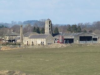 Chollerton village in United Kingdom