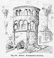 Chor der 1871 niedergelegten Pfarrkirche Merten um1905.jpg