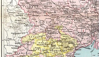 Chota Nagpur Tributary States - Chota Nagpur States; group under the Orissa States Agency
