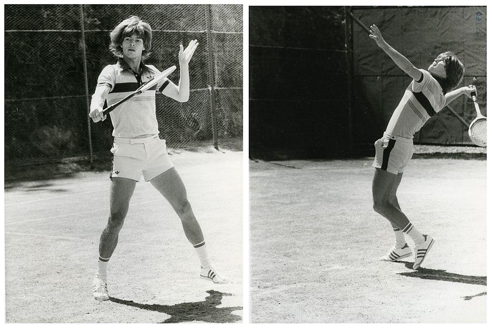 Chris Lewis, New Zealand Tennis Player (February 1980) (24874283479)