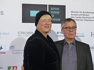 Christiane Ruff (Fernsehproduzentin) und Prof. Gebhard Henke (Filmproduzent).JPG