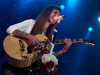 Christina Perri - Perri on her Head or Heart Tour in Los Angeles, California, in 2014