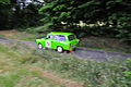 Christoph Raupach and Christopher Friedrich in a green Trabant 601 Universal during the Vogtlandrallye 2008.jpg