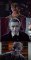 Christopher Lee as Frankenstein's monster, Count Dracula and Kharis.png