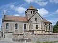 Church of Courmelois (Val-de-Vresle) Marne, Fr.JPG