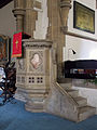 Church of the Holy Innocents, High Beach, Essex, England - pulpit.jpg