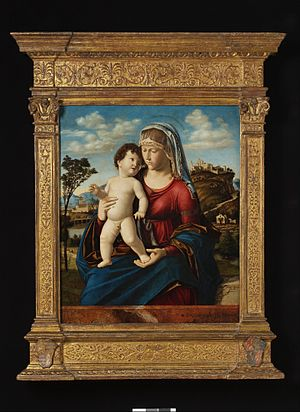 Cima da Conegliano - Madonna and Child, a popular composition found in many good versions