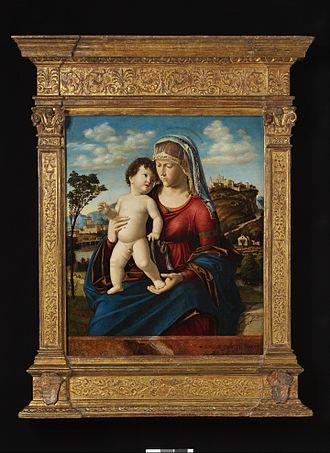Cima da Conegliano - Madonna and Child, a popular composition found in many good versions