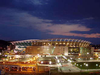 2011 Cincinnati Bengals season - Paul Brown Stadium, the home stadium for the Bengals