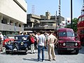 Citroën Traction Avant and Commer BF van, London, June 2007 (Geograph 464673).jpg