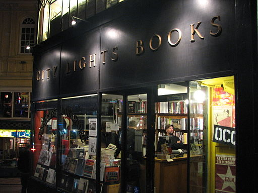 City Lights Bookstore (Night)
