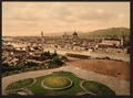 Cityscape view looking toward cathedral, Florence, Italy-LCCN2001700798.tif